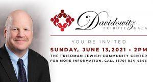 Davidowitz Tribute Gala @ The Sidney and Pauline Friedman Jewish Community Center