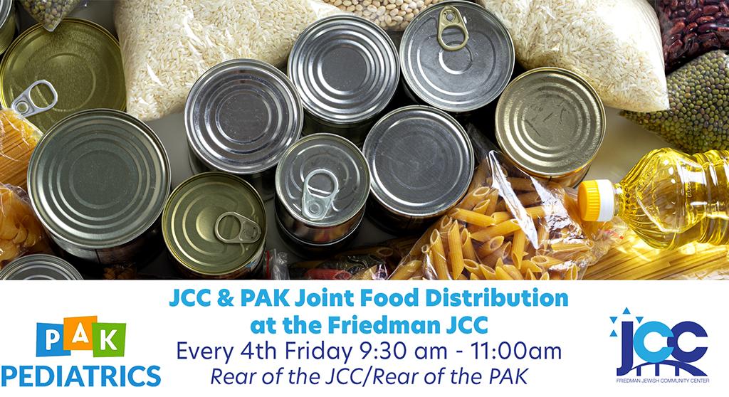 JCC & PAK Joint Food Pantry